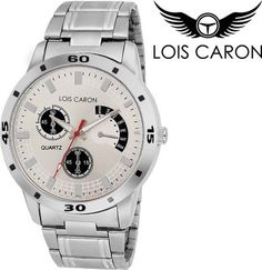 17f6a91d990 Key Features of Lois Caron LCS-4046 CHRONOGRAPH PATTERN ANALOG WATCH Analog  Watch - For