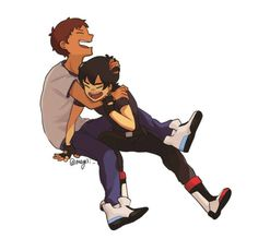 "klance | Tumblr ""If we go down...we go down together"""