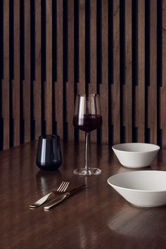 In 2001, Alfredo Häberli designed Essence with the radically simple idea to create a series that had as few glasses as possible while still being able to serve a full range of fine wines. Believing that simple forms enhance the enjoyment of wine, Essence glassware is modern and minimal with a thin lip for sipping which is rare in lead-free glass.  Essence is among the most highly acclaimed glassware in the world, and won the iF Award and Les Découvertes Award. #wineglass #design #iittala
