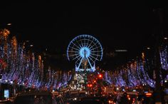 A walk down The Champs Elysees
