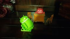 Android asked his supervisor but he denied help and call out a meeting