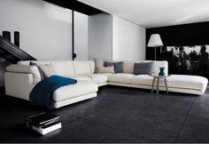 UBER Interiors Swan Italia Host Modular 3 Sofa With Match Tables Uber Interiors Corner Sofa, Contemporary, Modern, Sweet Home, House Design, Couch, Italy, Home Decor, Italian Furniture