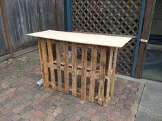 Building a Tiki bar from pallets :: Hometalk