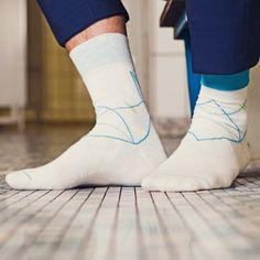 Socke Gibbs Designkollektion 'Blaustich'  #socks #mensocks #colorfulsocks #streetstyle #menstyle #accessories