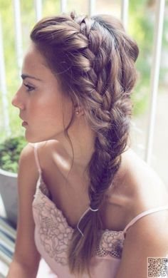 Simple Braids - #Timeless Hairstyles That Have Been #around for Centuries ... → Hair #Short