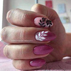 Nail Designs and Ideas for Purple Acrylic Nails Purple Acrylic Nails, Pink Nails, Mickey Nails, Feather Nails, Elegant Nail Art, Organic Nails, Magic Nails, Cat Nails, Minimalist Nails