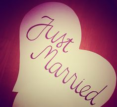 just married <3