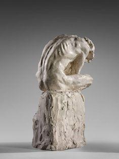""""""" Camille CLAUDEL (1864 - 1943 ) - L'Homme penché, ca.1886 Plâtre """""""