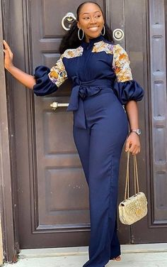The ideal source for your afro chic life style and fashion site Best African Dresses, Latest African Fashion Dresses, African Print Dresses, African Print Fashion, Africa Fashion, African Attire, African Print Jumpsuit, African Print Dress Designs, Looks Plus Size