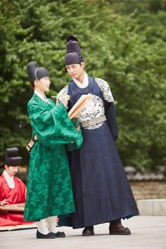 Park Bo Gum and Kim Yoo Jung, Moonlight Drawn By Clouds bts