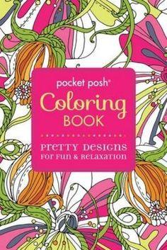 NEW Pocket Posh Coloring Book by Michael O'Mara Books Ltd Paperback Book Free Sh in Books | eBay