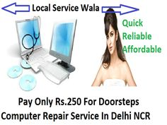 Problems hindering smooth functioning of your computer device are all out and gone now. At Local Service Wala, every complicated issue gets resolved. Call now for more and get instant and immediate service at your residential or commercial place at your pocket allow budget.