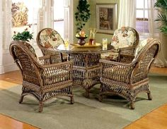 Southhampton Rattan Dining Furniture from Spice Island Wicker