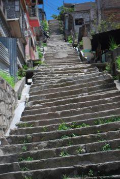 staircase in honduras