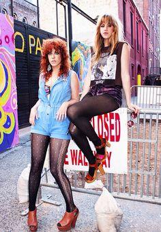 Deap Vally - badass rockers & kickass style!