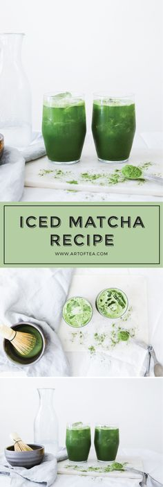 There's nothing quite like an iced tea on a warm spring day. We're sharing our iced matcha recipe using our Haru No Ko Ceremonial Grade Matcha. It's perfect for a morning pick-me-up, to take on a spring picnic, or even a fun treat to serve to guests! - Art of Tea
