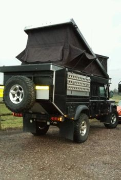 custom campers land rover 130 crew cab camping expedition gear pinterest land rover. Black Bedroom Furniture Sets. Home Design Ideas