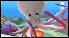 Alex - El Pulpo, descubre el mundo marino - dibujos animados educativos ...