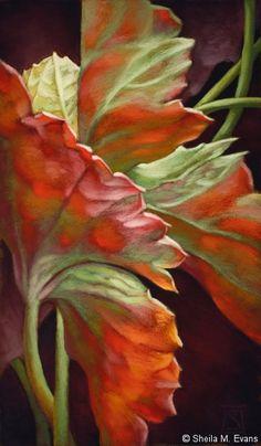 Shelia Evans, Moondrop No.2 pastel