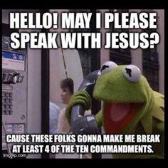 Hello!..Jesus?