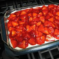 Fit for an Angel Strawberry Angel Food Cake