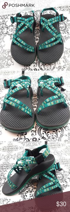 5a1d24932b1b Chaco ZX1 Ecotread Kids Park Play Sandals Sz.3 For outdoor adventure