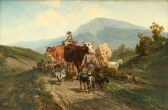 73: ALEXANDRE DUBUISSON (FRENCH 1805-1870) : Lot 73