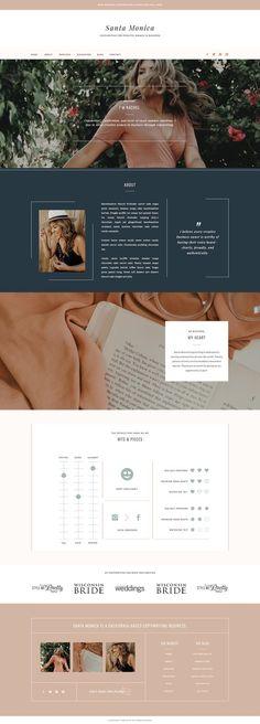 Ideas for wedding planner website design Web Design Trends, Design Web, Layout Design, Web Design Tutorial, Web Design Quotes, Web Design Services, Design Blog, Web Layout, Web Design Templates
