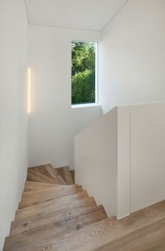 Time for me! M (a) place to dive . - Home Interior Design Interior Stairs, Interior Design Living Room, Interior Architecture, Interior And Exterior, Wooden Stairs, House Stairs, Stair Railing, Staircase Design, New Homes