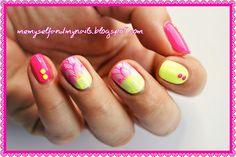 me, myself and my nails: Neonowe wakacje
