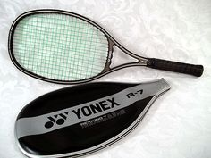 "Sold YONEX R-7 Graphite Construction Tennis Racket 26.75"" long 4 5/8"" grip #Yonex"