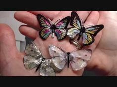 MY ORIGINAL VIDEO ON THESE BUTTERFLIES! https://www.youtube.com/watch?v=MujCOOYltjI I want to thank my subbies for watching and encouraging me in making more...