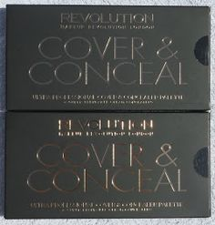 *Nina's Bargain Beauty*: Makeup Revolution Cover and Conceal Palette Review @makeuprevolution