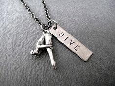 The DIVE Necklace is a great way to celebrate the diver in your life! Perfect as a gift for yourself or for your diving buddies! Makes a great gift