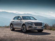 Silver car, compact, outdoor, suv, Bentley Bentayga wallpaper