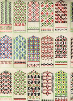 tautas cimdu raksti patterns for mittens knitting patterns, embroidery patterns and folk ornaments Knitting Charts, Knitting Stitches, Knitting Designs, Knitting Projects, Hand Knitting, Knitting Patterns, Embroidery Patterns, Knitted Mittens Pattern, Knit Mittens