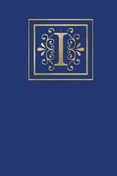 Ruled Monogram Journal I