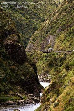 Another view of the Manawatu Gorge, North Island, New Zealand. Photo: Matthew Wright