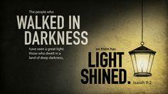 Light diminishes darkness
