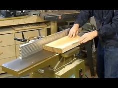 Face jointing boards wider than your jointer Woodworking Joints, Woodworking Tips, Wood Finishing, Wood Working, Workshop, Knowledge, Boards, Hacks, Tools