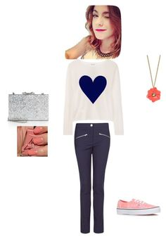 """""""MS"""" by caetenoum ❤ liked on Polyvore featuring Banjo & Matilda, MANGO, Vans, Kate Spade, River Island and American Apparel"""