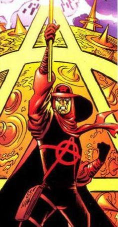 Anarky pic #2 Batman Comics, Dc Comics, Jervis Tetch, Hugo Strange, Comic Villains, Comic Character, Character Design, Arkham Asylum, The 5th Of November