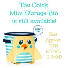 Thirty One Mini Storage Bin Spring Summer 2017 Thirty