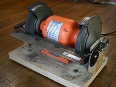 EZ-Adjust Bench Grinder Table