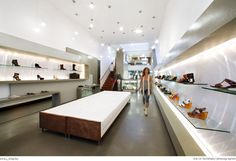 Sway. high-end custom retail space. minimalist design | stylistic merchandising + product display.AB design studio inc.