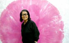 ArtistTomie Ohtake (this is the lady that made that amazing yellow kind of X shape I re-pinned a little bit ago!)
