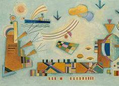 Wassily Kandinsky. Mild process, 1928