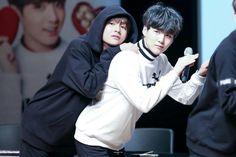 Tae and Yoongi  