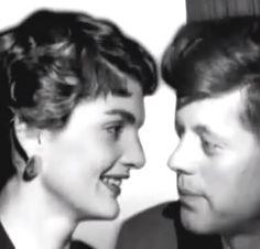 Beauty Couple ..... So Stunning ... ❤❤❤❤❤❤❤  http://en.wikipedia.org/wiki/Jacqueline_Kennedy_Onassis  http://en.wikipedia.org/wiki/John_F._Kennedy
