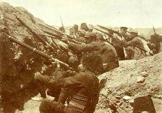 Armenian soldiers during the defense of Van